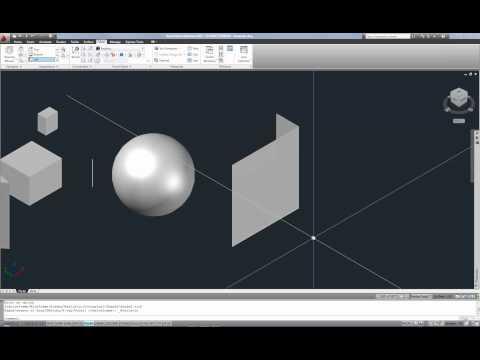 AutoCAD Interm.: Basic 3d solid modeling