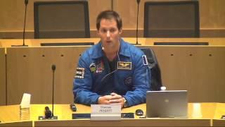 Jeudi 29 janvier 2015 - Thomas Pesquet au Forum des savoirs 2015