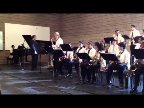 "Alta Loma Middle School Jazz Band ""Jammin' with Charlie"" Sonoma State CMEA"