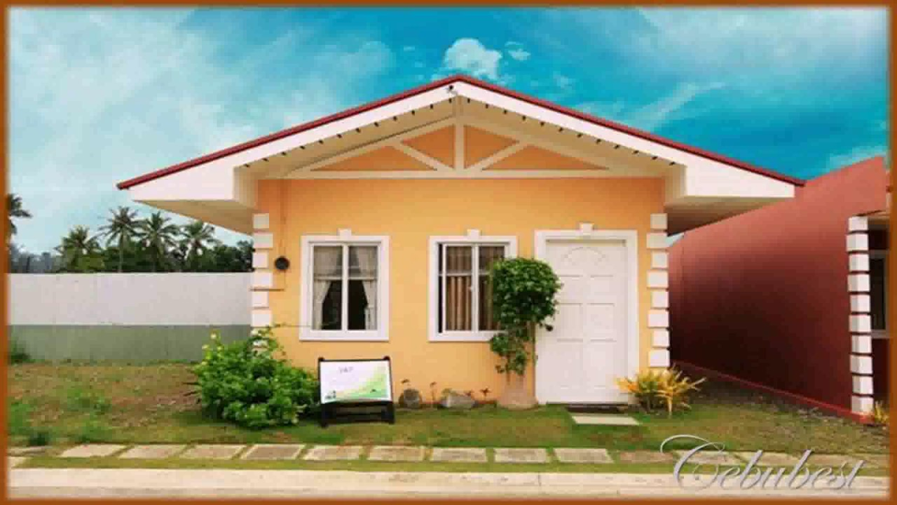 Simple style of house in the philippines youtube for Simple modern house interior