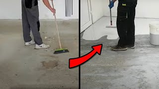 Making new Epoxy Floor for Garage Shop - DIY