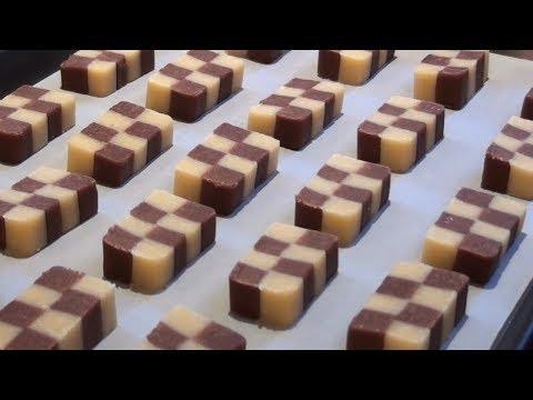 Checkerboard Cookies Recipe