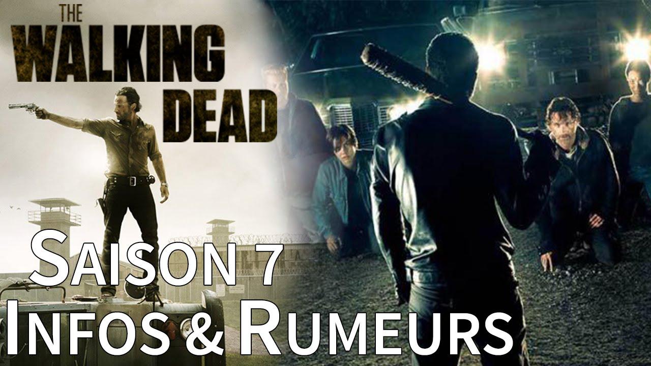 The walking dead saison 7 infos officielles et rumeurs for 7 a la maison saison 8