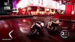 RIDE 3 - Gamescom 2018 - First Gameplay Preview (Macau Track)