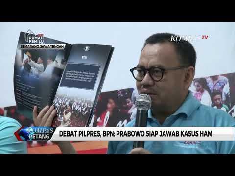 Debat Pilpres, BPN Prabowo-Sandi: Prabowo Siap Jawab Kasus HAM