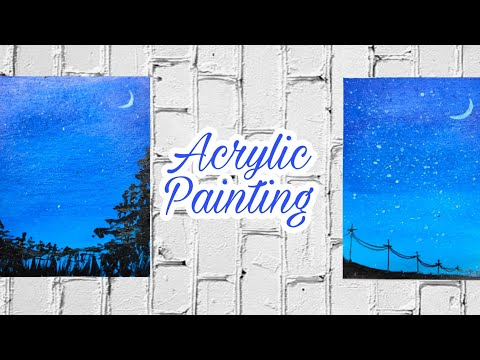 Beginners Landscape Painting || Acrylic Painting || #05