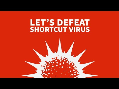 10 ways to remove the usb short cut virus permanently  ; with links ; 100 % working!!