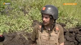 Боевики открыли огонь по позициям ВСУ. Мина попала в бойца АТО