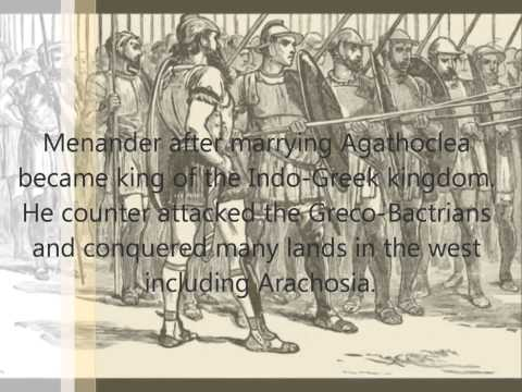 Menander the great