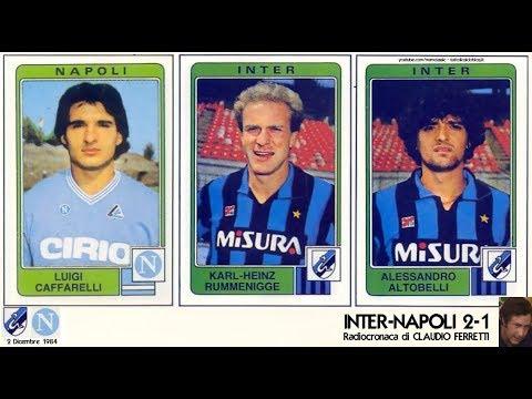 Inter Napoli 2 1 2 12 1984 Radiocronaca Di Claudio