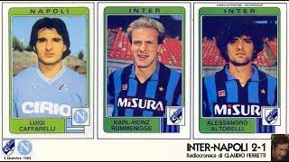Inter-napoli 2-1  2/12/1984  Radiocronaca Di Claudio Ferretti  Tutto Il Calcio Minuto Per Minuto