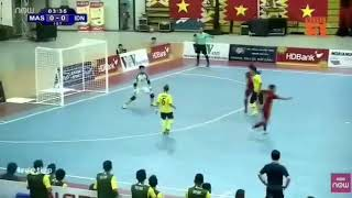 Highlight AFF Futsal Championship 2019, Indonesia vs Malaysia