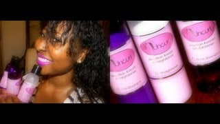 ❤BEST Home BRAZILIAN KERATIN Treatment!!!! | Uncurly ❤