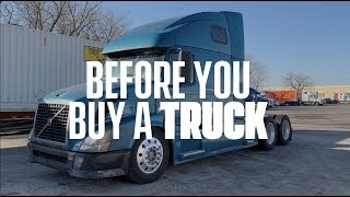 Download Before you buy a truck. How to buy a semi truck Mp3 and Videos