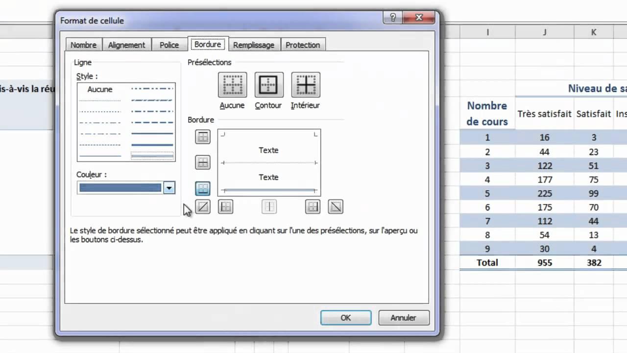 Charming Faire Un Tableau Photo #12: Tableau De Contingence (tableau à Double Entrées) Sous Excel 2010 (ou Excel  2007) - YouTube