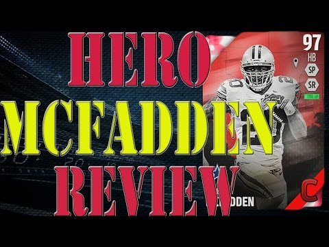 Campus Hero Darren Mcfadden Review | Player Review | Madden 16 Ultimate Team Gameplay | MUT 16