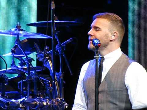 Gary Barlow Featuring Professor Brian Cox - Back For Good - Manchester 07/12/12