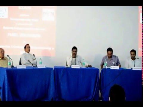 UEM KOLKATA ---- E-Cell Panel Discussion 2K16