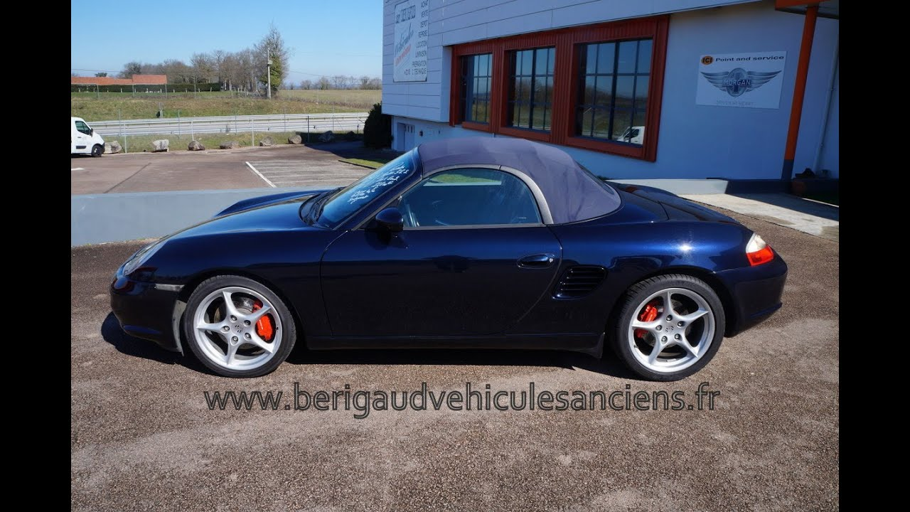 porsche boxster s 2003 vendre youtube. Black Bedroom Furniture Sets. Home Design Ideas