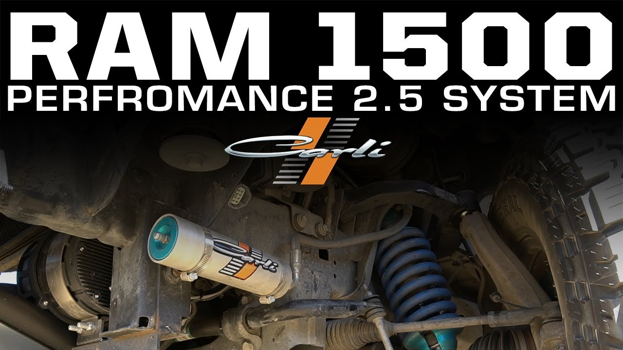 Ram 1500 – Performance 2 5″ Overview – Carli Suspension, Inc