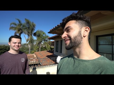 MY BEST FRIEND VISITS THE FAZE HOUSE