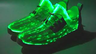 Fiber Optic LED Light Up Shoes