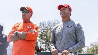 John Lynch and John Elway Discuss Old Memories Together