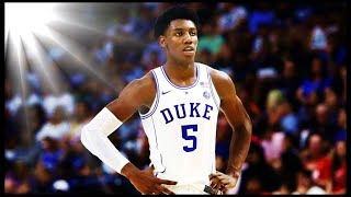 R. J. Barrett Duke Highlights 2019 MONSTER