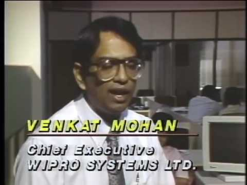 "1987: Wipro & ""Made in India"" computers (30 years old rare video)"