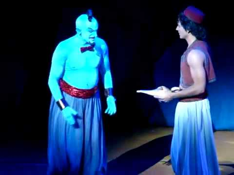 Genie's Jokes Of Aladdin  A Musical Spectacular - 6  11 2010 - Part 1