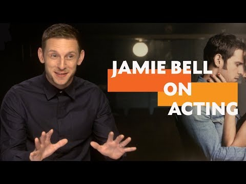 """""""Surround yourself with people that care about you as an individual""""   Jamie Bell on Acting"""