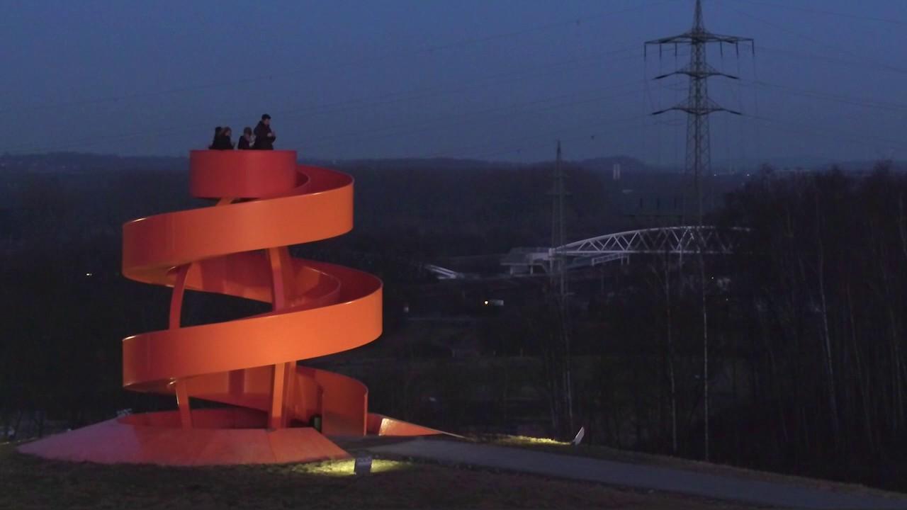 Haldenzeichen im lippepark hamm von berghaus architekten youtube - Berghaus architekten ...