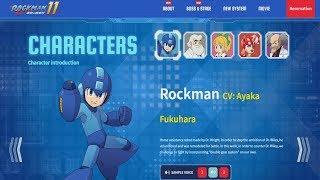 Mega Man 11 - Voice Acting Samples (English Vs. Japanese Comparison)