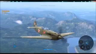 медаль Страж, тактика боя на самолете Як-9У, в игре Ворлд оф Варплейнс