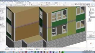 Работа с текстурами в ArchiCAD