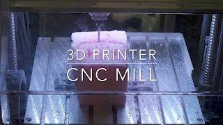 3d Printer Cnc Mill