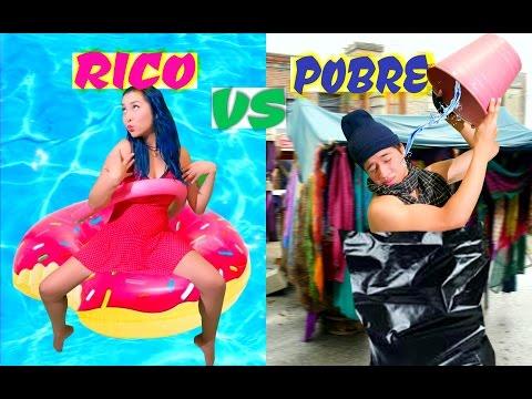 RICO VS POBRE - EL MUSICAL | Palomitas Flow !!!