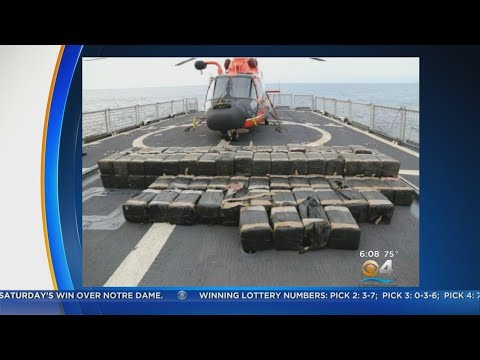 Coast Guard To Offload 10 Tons Of Cocaine At Port Everglades