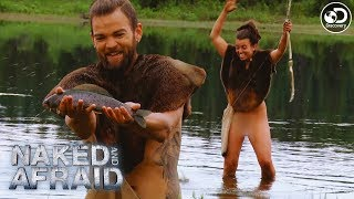 Catching Fish in the Alaskan Tundra | Naked and Afraid