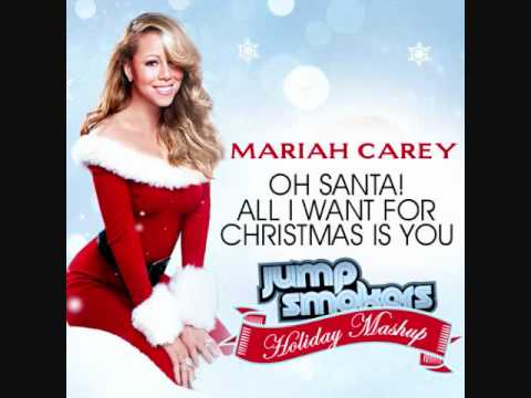 youtube all i want for christmas is you lyrics