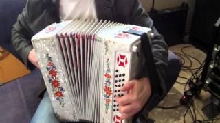 Цыганочка на тульской миди гармони от компании Littau