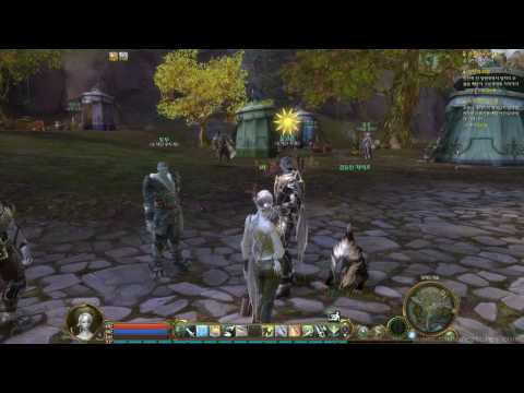 Aion - Asmodian Daeva Quest Overview And Priest Game Play (Part 1) - MMORPG (HD 720p)