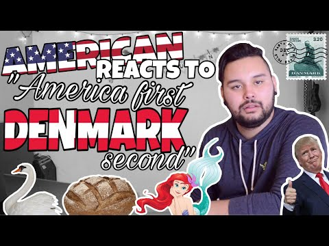 American REACTS  America First Denmark Second