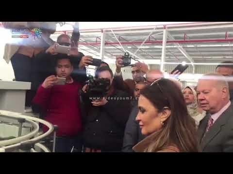 وزيرة الاستثمار ومحافظ بورسعيد يتفقدان مصنع لإنتاج الكيماويات بالمنطقة الصناعية بورسعيد  - 17:54-2019 / 3 / 17