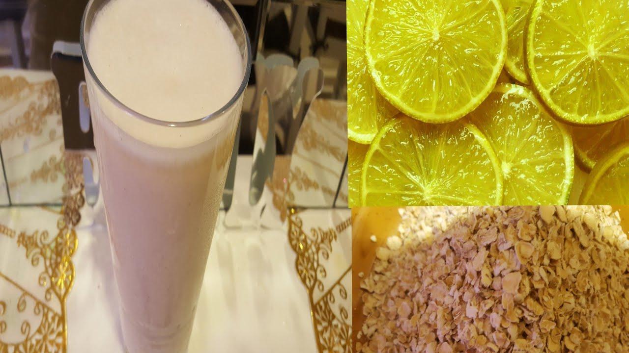 como tomar avena con limon para bajar de peso