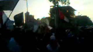 An anti-government protest in Damietta