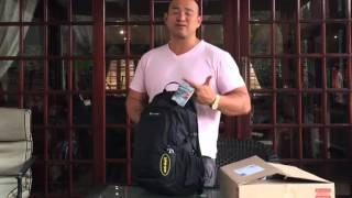 Pacsafe Travel Backpack Review + What's inside my bag