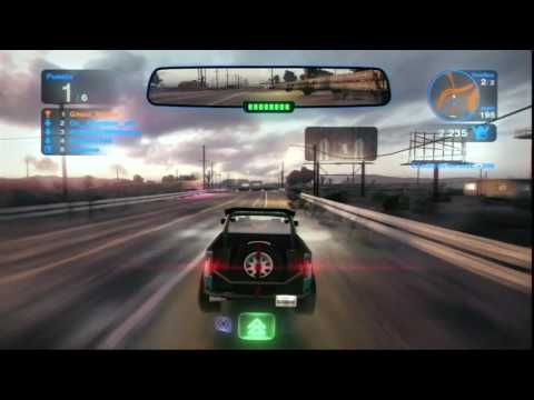 Blur PS3 - Running to the limit with the F150