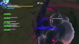 Can ultimate pushback giant ki blast (Dragon ball xuniverse 2)