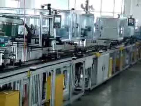 Fully automatic armature production line for wiper motor ...